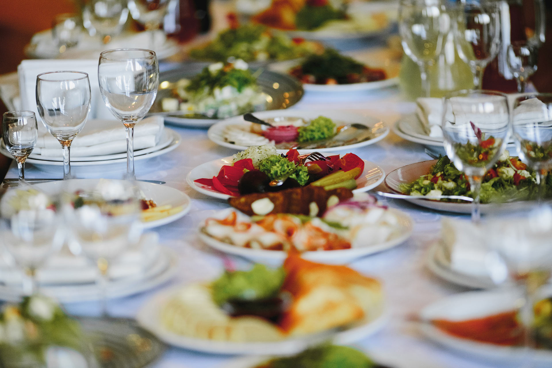 plates-with-variety-food-celebration-table